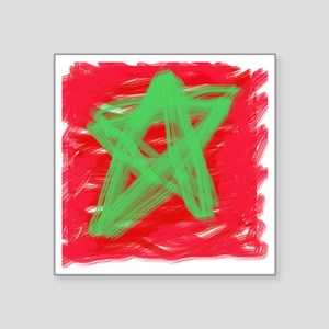 "MAROC BY KIDS Square Sticker 3"" x 3"""