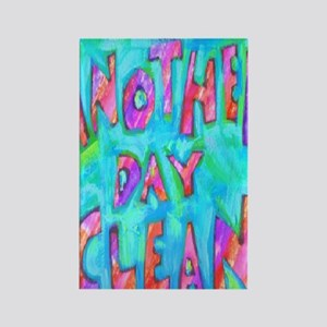 day clean Rectangle Magnet