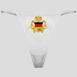 Gold1Deutschland1 Classic Thong