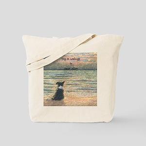 lulu cal Good morning, morning w words no Tote Bag