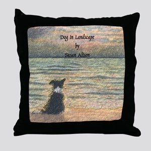 lulu cal Good morning, morning w word Throw Pillow
