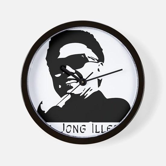 Kim-Jong-Illestbig Wall Clock