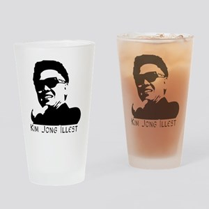 Kim-Jong-Illestbig Drinking Glass