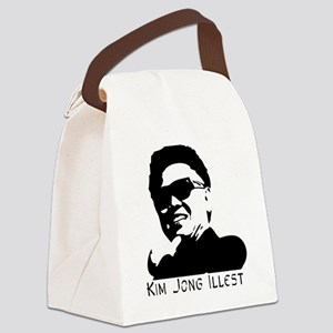 Kim-Jong-Illestbig Canvas Lunch Bag