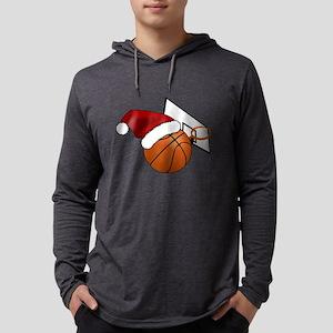 Christmas Basketbal Long Sleeve T-Shirt