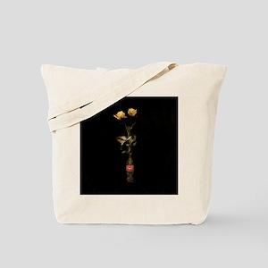Yellow Roses Square 3 Tote Bag