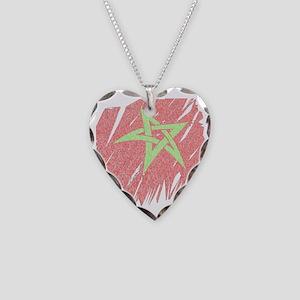 Flag2 Necklace Heart Charm