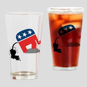republican-logo-dump Drinking Glass