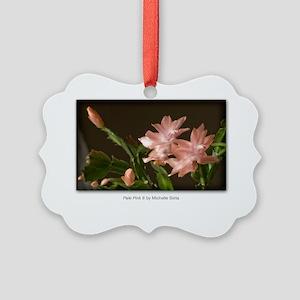 NCards_Pale Pink 6 copy Picture Ornament