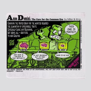 AD-scarystory3 Throw Blanket