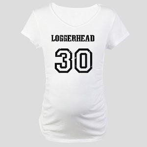 Costa Rica Turtles -Team Loggerh Maternity T-Shirt