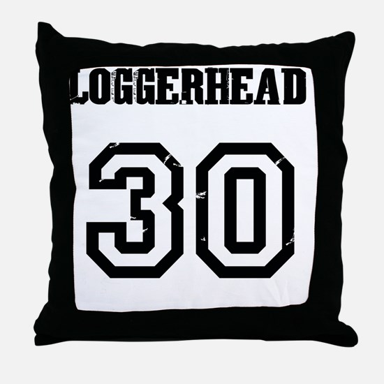 Costa Rica Turtles -Team Loggerhead Throw Pillow