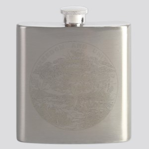 Vintage Vermont State Flag Flask