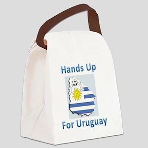 uruguay handball Canvas Lunch Bag