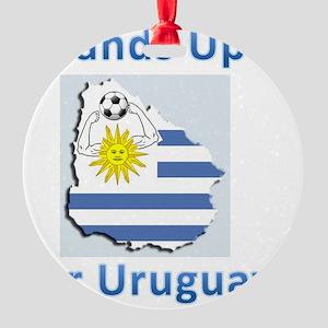 uruguay handball Round Ornament