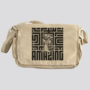 a_mazing_mouse Messenger Bag