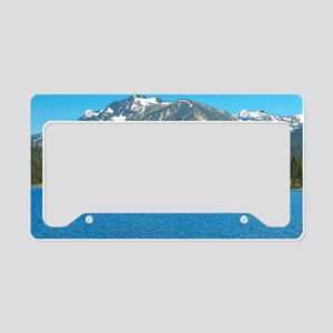 Tahoe Blue License Plate Holder