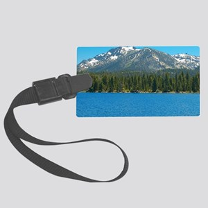 Tahoe Blue Large Luggage Tag