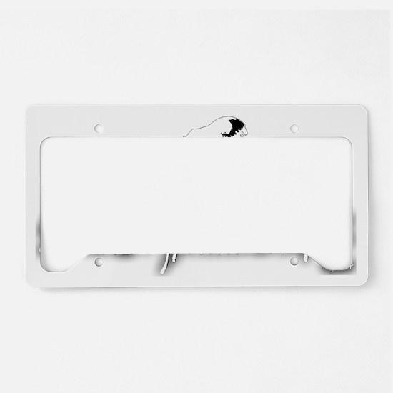 2-SexyTrex_inverse License Plate Holder