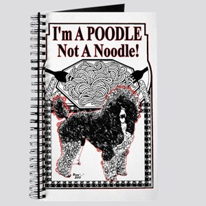 Poodle Not Noodle Journal