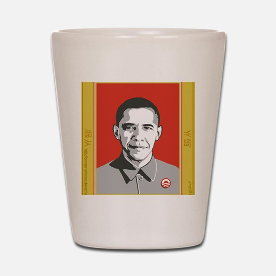 Chairman Obama Shot Glass