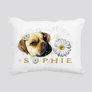 Sopie Clear Rectangular Canvas Pillow
