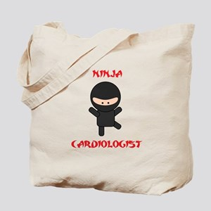 Ninja Cardiologist Tote Bag