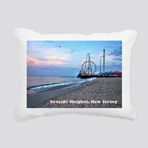 Seaside Heights Ferris W Rectangular Canvas Pillow