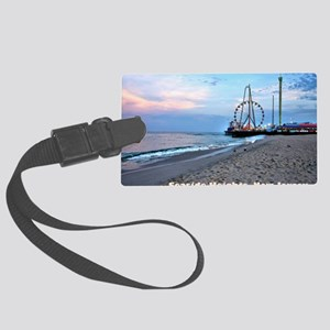 Seaside Heights Ferris Wheel Large Luggage Tag