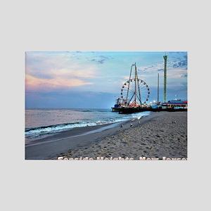 Seaside Heights Ferris Wheel Rectangle Magnet
