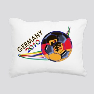 Germany 2010 Soccer T-Sh Rectangular Canvas Pillow
