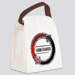 turbo color Canvas Lunch Bag