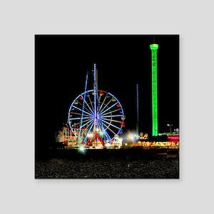 "Ferris Wheel Square Sticker 3"" x 3"""