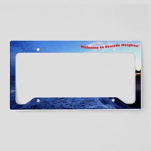 Seaside Heights Boardwalk License Plate Holder