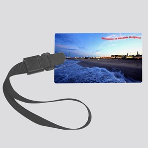 Seaside Heights Boardwalk Large Luggage Tag