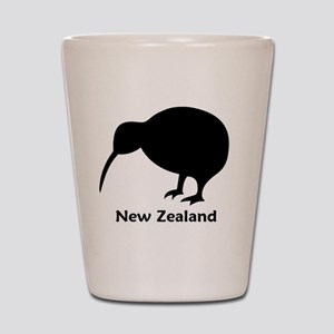 Kiwi - NZ Text Shot Glass