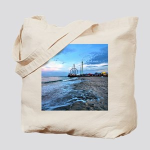 Beachfront Seaside Tote Bag
