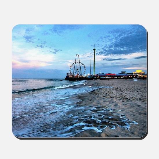 Beachfront Seaside Mousepad