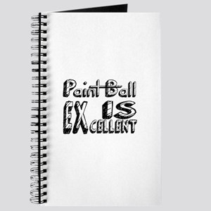 Paint Ball Is Excellent Journal