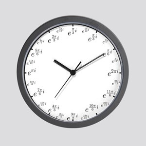 Math Clock (L)(Polar) Wall Clock