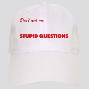 STUPIDQUESTdrk Cap
