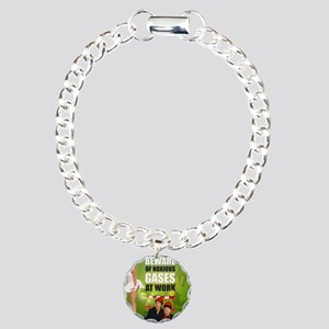 2-nov Charm Bracelet, One Charm