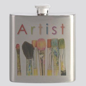artist-paint-brushes-01 Flask