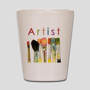 artist-paint-brushes-01 Shot Glass