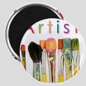 artist-paint-brushes-01 Magnet