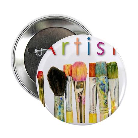 "artist-paint-brushes-01 2.25"" Button"