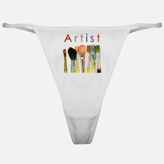artist-paint-brushes-01 Classic Thong