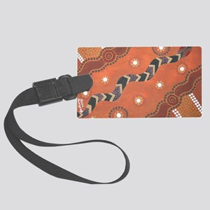 snake Large Luggage Tag