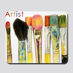 artist-paint-brushes-02 Mousepad