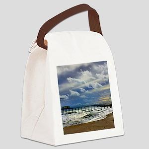 Belmar Beach Square Canvas Lunch Bag